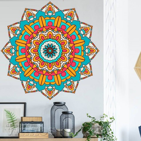 Vinilos Decorativos - Mandala Color