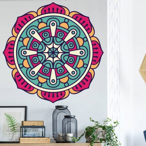 Vinilos Decorativos - Mandala Color 2