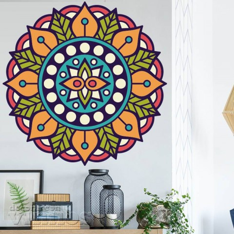 Vinilos Decorativos - Mandala Color 3