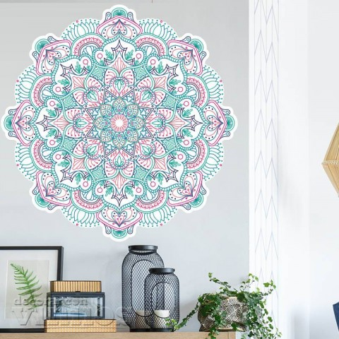 Vinilos Decorativos - Mandala Color 4