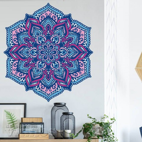 Vinilos Decorativos - Mandala Color 5