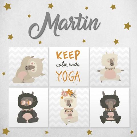 Letras de madera + Pack Yoga