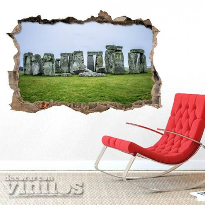 Pared Rota 3D - Stonehenge