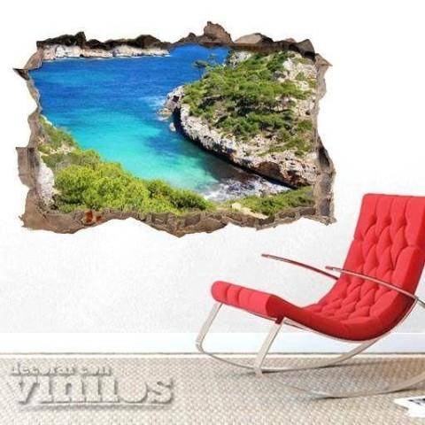 Pared Rota 3D - Cala Des Moros Mallorca