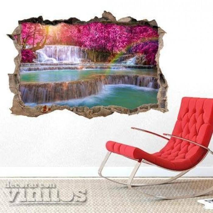 Pared Rota 3D -  Cataratas de Iguazu