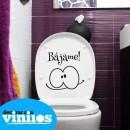 Vinilos para baños - Bájame (25x25cms)