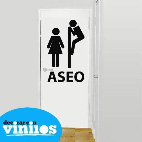 Vinilos para baños - Aseo