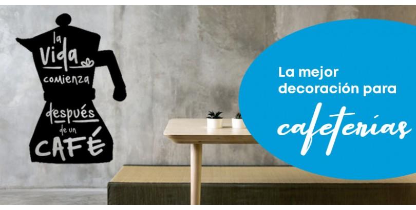 La mejor decoración para cafeterías