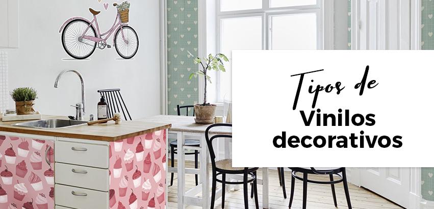 ¿Cuáles son los diferentes tipos de vinilos decorativos?