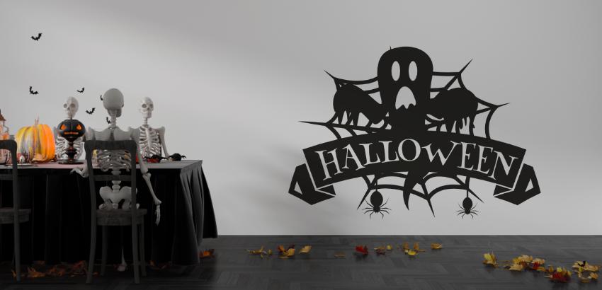 Ideas de decoración de Halloween con nuestras mejores vinilos decorativos