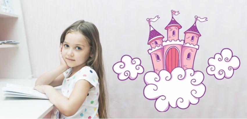 Decoración con Vinilos Para Las Princesas De La Casa