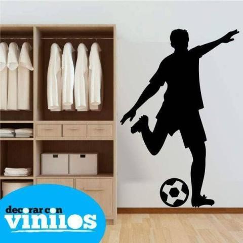 Vinilos Decorativos - Jugador de Futbol