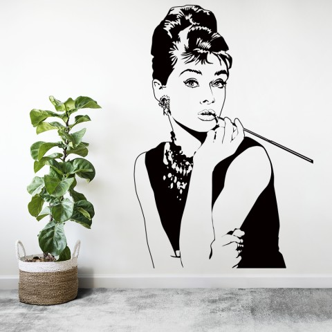 Vinilos Decorativos - Audrey Hepburn
