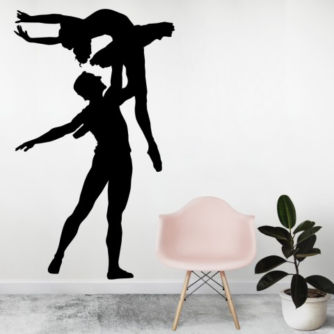 Vinilos Decorativos - Pareja Ballet