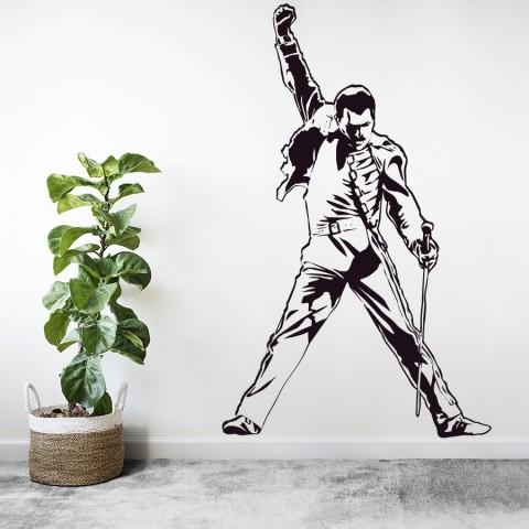 Vinilos Decorativos - Freddie Mercury