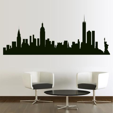 Vinilos Decorativos - Skyline New York