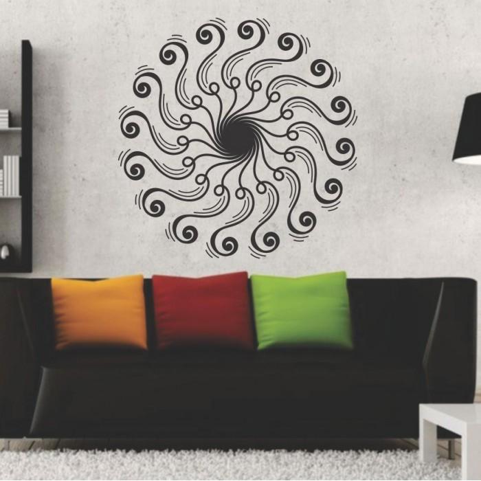 Vinilos Decorativos - Mandala espiral
