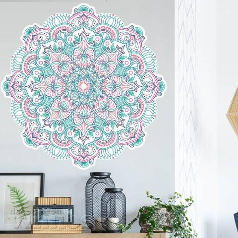 Vinilos Decorativos - Mandala Color 4