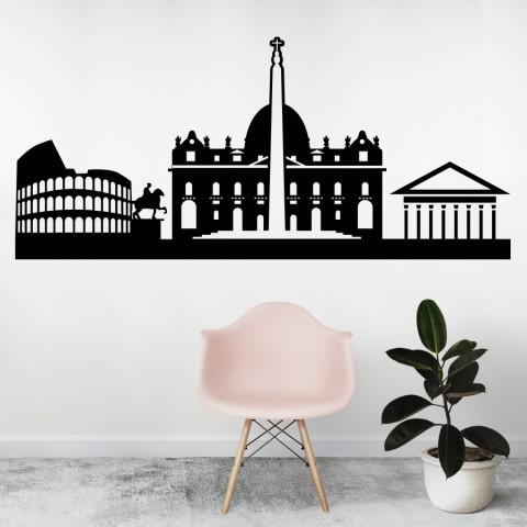 Vinilos Decorativos - Skyline Roma