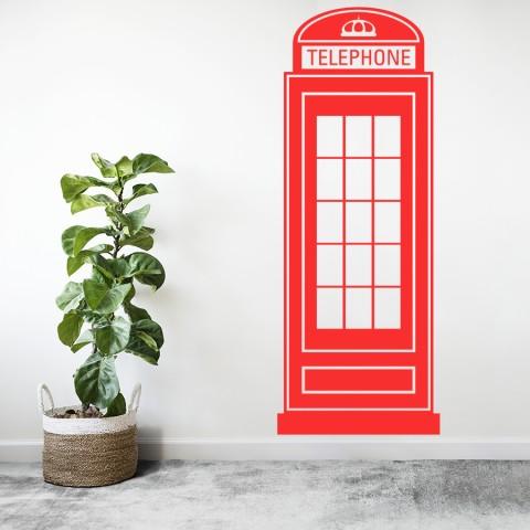 Vinilos Decorativos - Cabina Londres