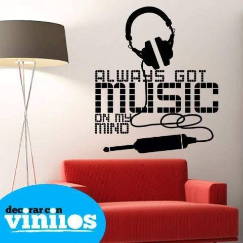 Vinilos Decorativos - Always Music