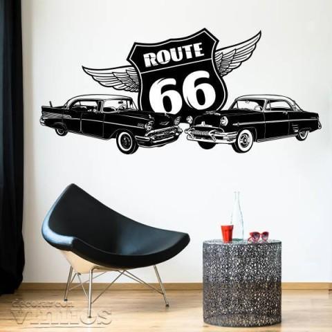 Vinilos Decorativos - Ruta 66