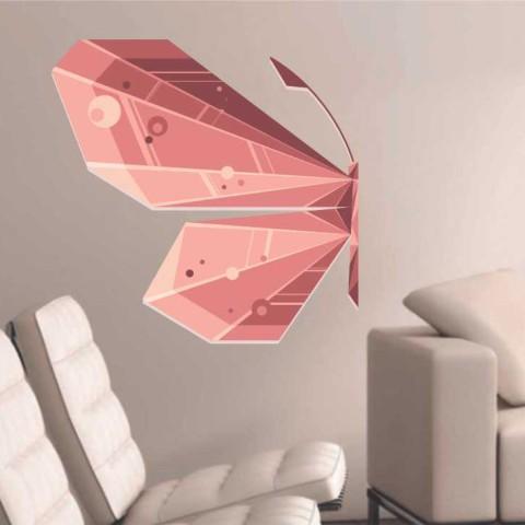 Vinilos Decorativos - Mariposa rosa