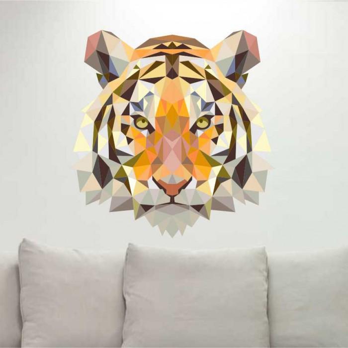Vinilos Decorativos - Cabeza tigre