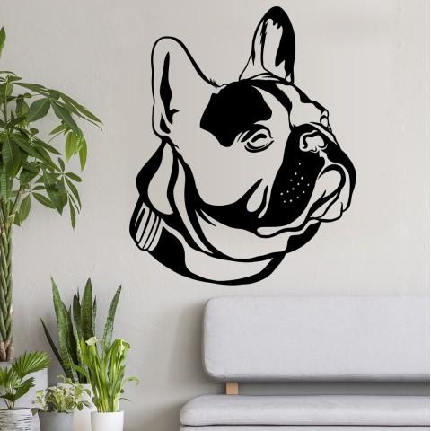 Vinilos Decorativos - Bulldog Frances