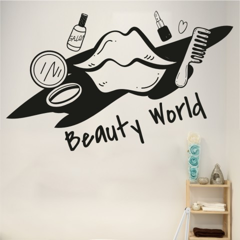 Vinilos Decorativos - Beauty World