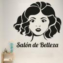 Vinilos Decorativos - Peluquería Salon de belleza 2