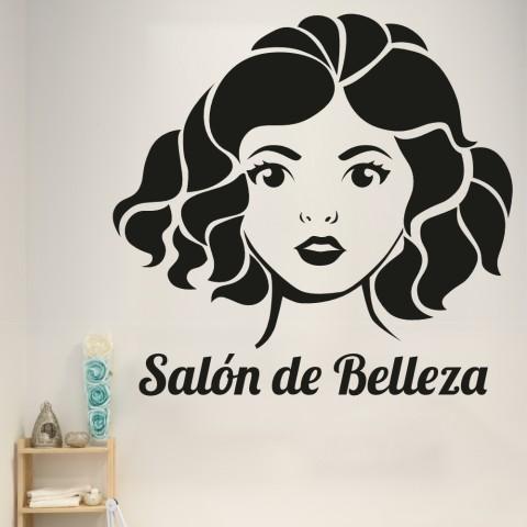Vinilos Decorativos - Salon de belleza