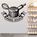 Vinilos Decorativos - Panadería Pastelería