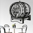 Vinilos Decorativos - Barril de cerveza