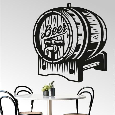 Vinilos Decorativos - Barril cerveza