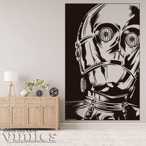 Vinilos Decorativos - C-3PO