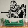 Vinilos Decorativos - Han Solo y Chewacca