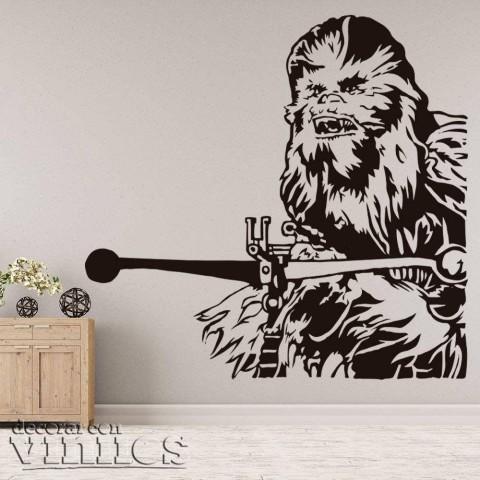 Vinilos Decorativos - Chewbacca