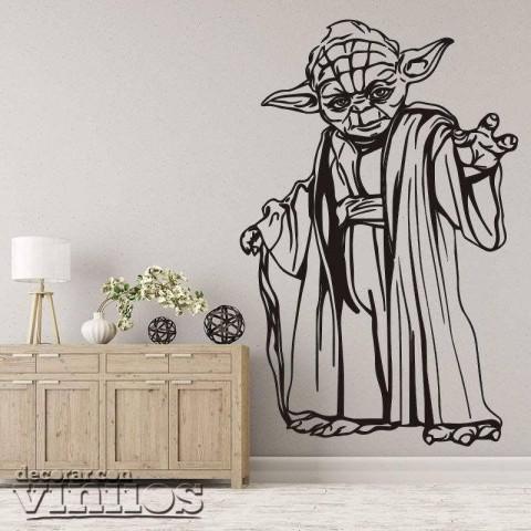 Vinilos Decorativos - Yoda 2