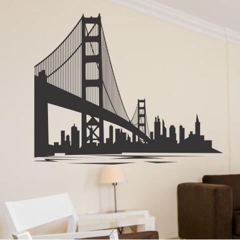 Vinilos Decorativos -  Golden Gate