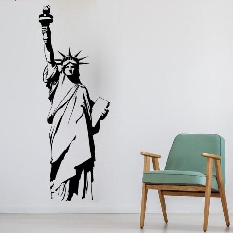 Vinilos Decorativos -  Estatua Libertad