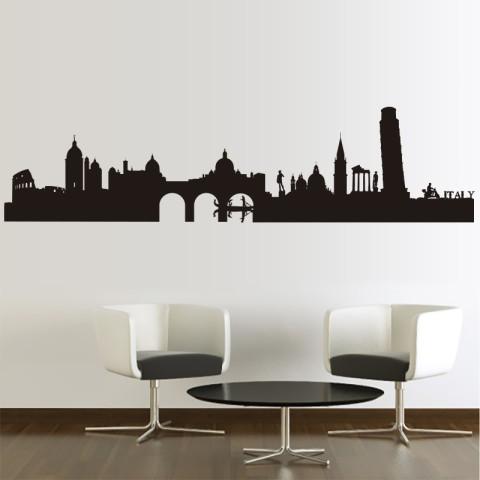 Vinilos Decorativos - Skyline Roma 2