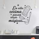 Vinilos Decorativos - Cocina Mágica