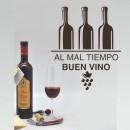 Vinilos Decorativos - Al mal tiempo buen vino