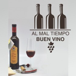 Vinilos Decorativos - Al mal tiempo