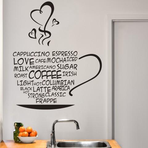 Vinilos Decorativos - Love Coffee