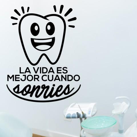 Vinilos Decorativos - Cuando sonries
