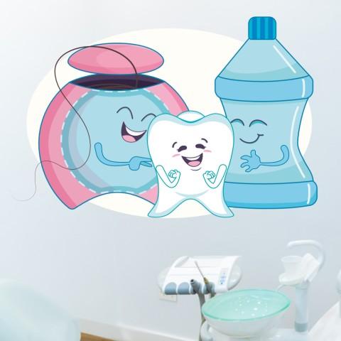Vinilos Decorativos - Dentista Infantil
