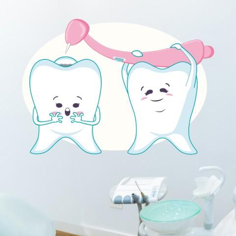 Vinilos Decorativos - Dentista Infantil 2