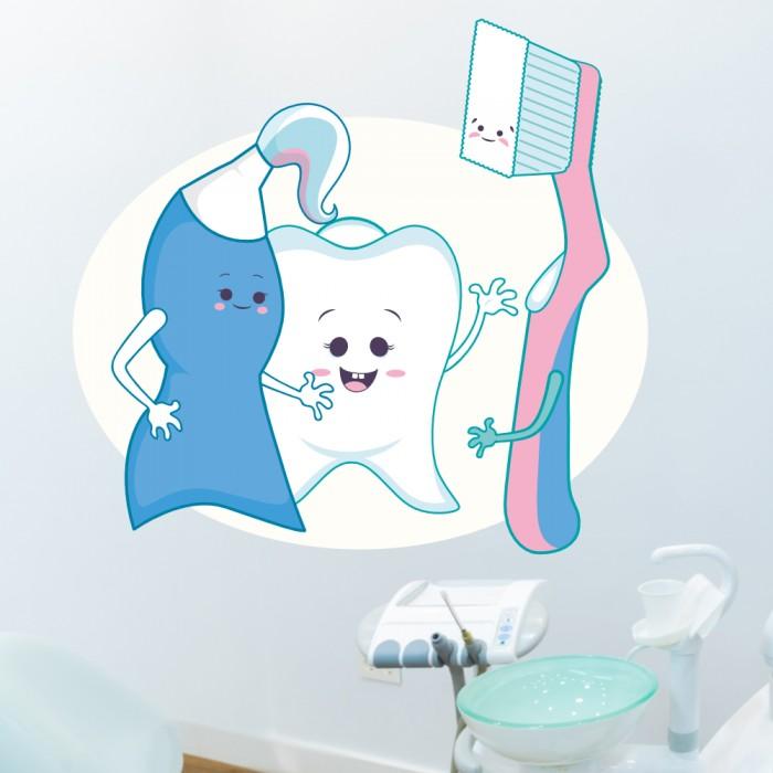 Vinilos Decorativos - Dentista infantil 3
